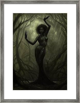 Queen Of Mud Framed Print by Caroline Jamhour