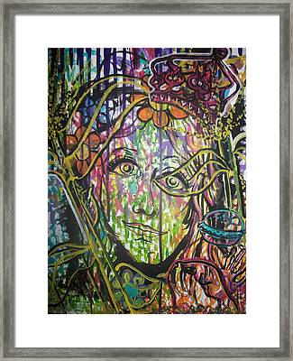 Queen Of My Own Domain Framed Print by Ashley Henry