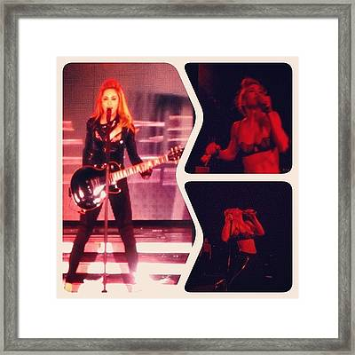 Queen Of Pop #mdna Framed Print