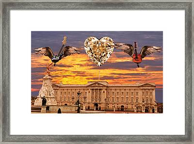 Queen Rocks Framed Print by Eric Kempson