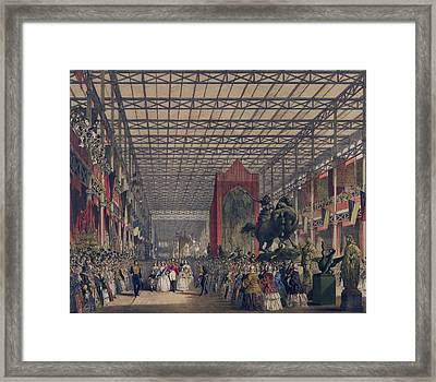 Queen Victoria With Prince Consort Framed Print
