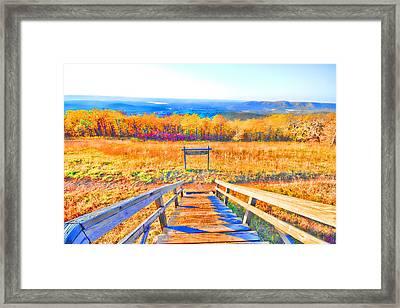Queen Wilhelmina State Park Framed Print by Douglas Barnard