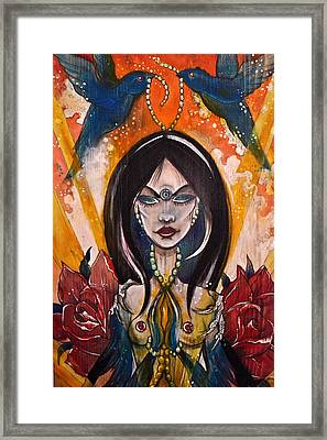 Queenie Framed Print by Sandro Ramani