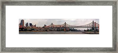 Queensboro Bridge Framed Print
