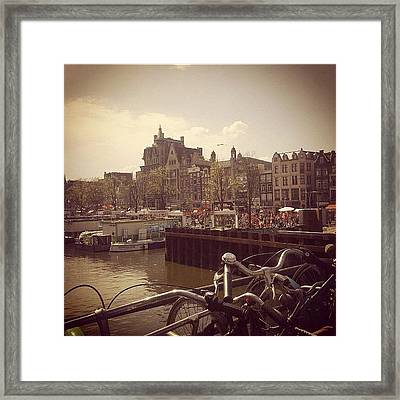 #queensday #2012 #amsterdam Framed Print