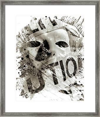 Quell II Framed Print by Christian Allen