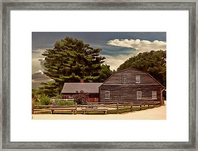 Quest In Time Framed Print by Lourry Legarde