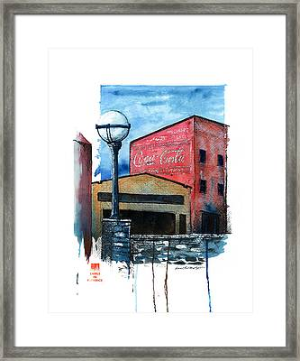 Quick Draw 2012 Framed Print by Daniel Paul Murphy