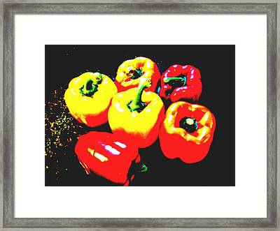 Quick Somebody Call 911 Framed Print by Dana Outlaw