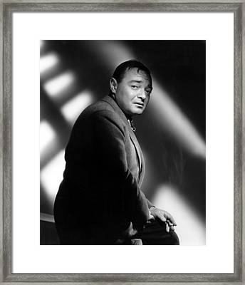 Quicksand, Peter Lorre, 1950 Framed Print by Everett