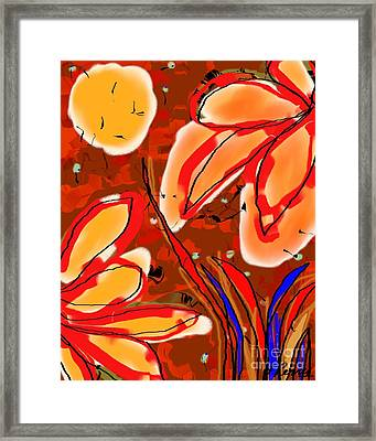 Quiet Encounter Framed Print
