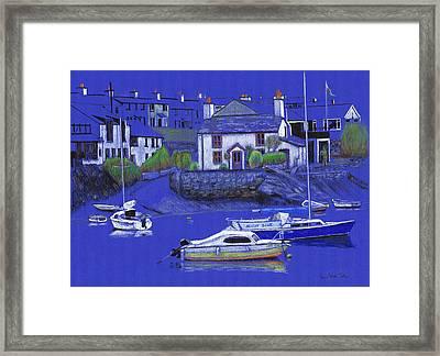 Quiet Harbour Framed Print