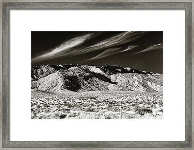 Quiet In The Valley Framed Print by John Rizzuto