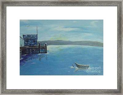 Quiet Place Framed Print by Debra Piro