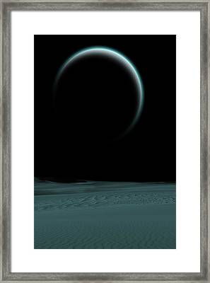 Quiet World Framed Print