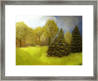 Framed Print featuring the painting Quietude by Elizabeth Coats