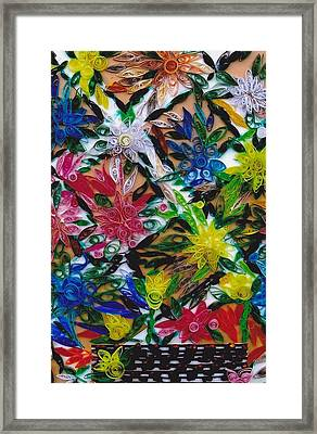 Quillery Framed Print by Suzanne Thomas