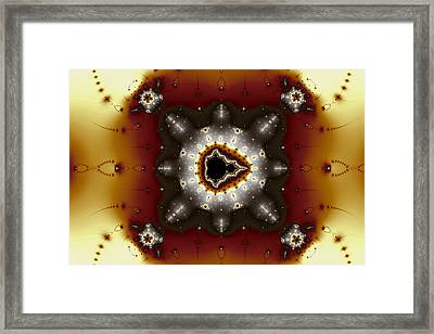 Quincunx Framed Print by Mark Eggleston