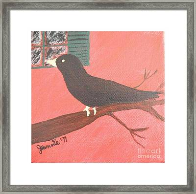 Quoth The Raven Evermore Framed Print
