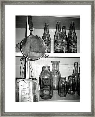 Framed Print featuring the photograph R C Cola by Lyn Calahorrano