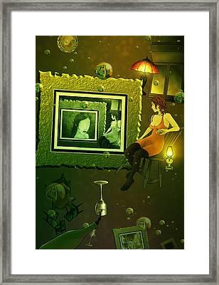 Rabbit Hole Framed Print