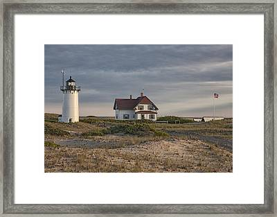 Race Point Lighthouse Framed Print by Nicholas Palmieri
