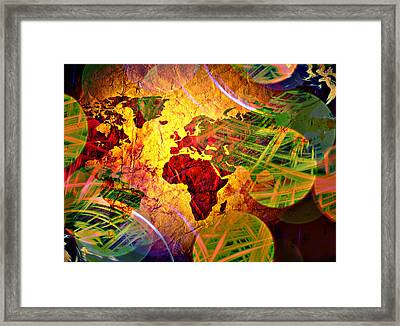 Races Of Race  Framed Print