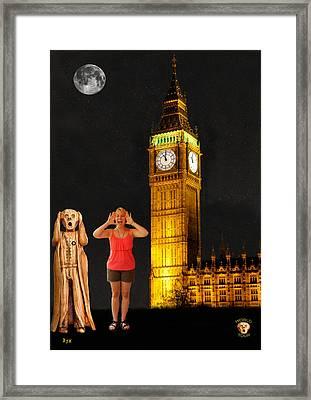 Rachel Hoovler Screams Big Ben Framed Print by Eric Kempson