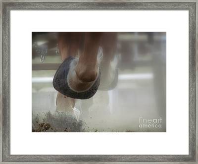 Framed Print featuring the photograph Racing by France Laliberte