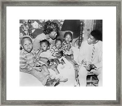 Racist Murder In Mississippi. Bulah Framed Print by Everett