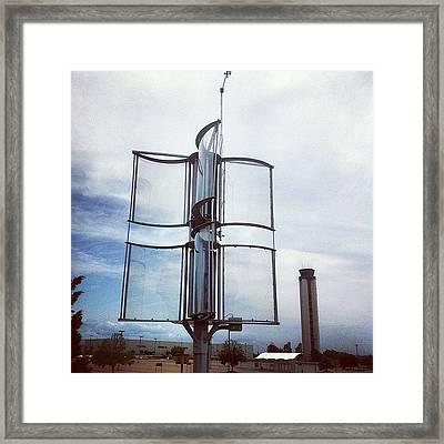 Radar Framed Print