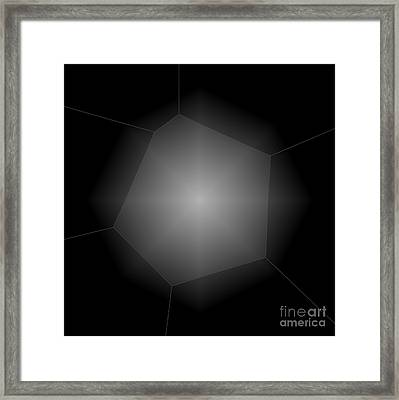 Radiance - Abstract Art Framed Print