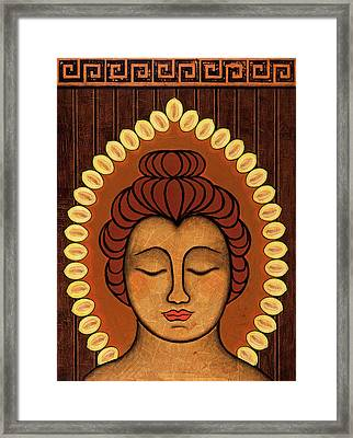 Radiant Peace Framed Print