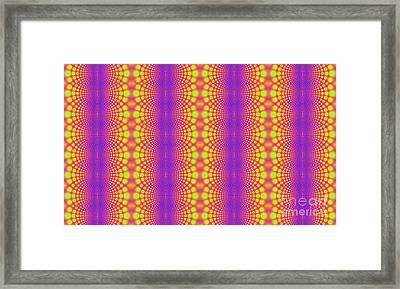 Radiating Framed Print by Clayton Bruster