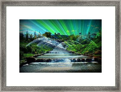 Radiating Eur Framed Print