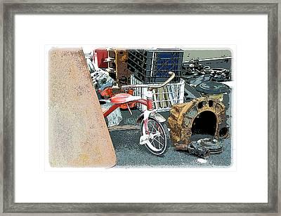 Radio Flyer Framed Print by Steve McKinzie