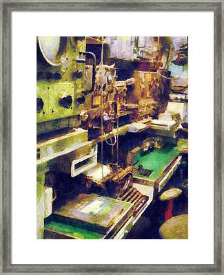 Radio Room Framed Print by Susan Savad