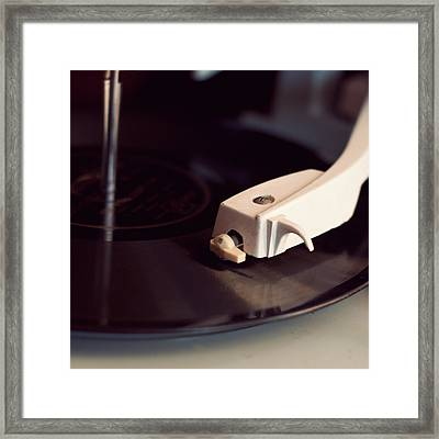Radiogram Framed Print