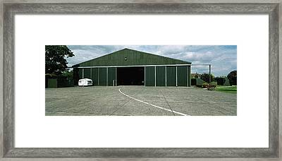 Raf Elvington Hangar Framed Print by Jan W Faul