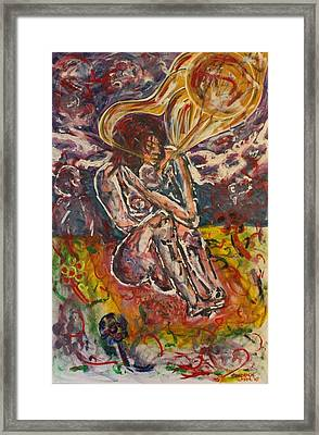 Rage Against Abortion Framed Print by Shadrach Ensor
