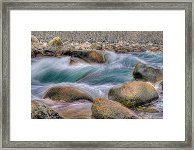 Raging Waters Framed Print by Naman Imagery