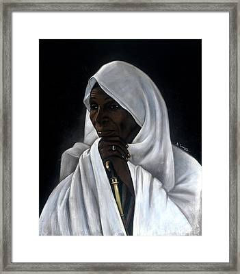 Rahab Framed Print by L Cooper