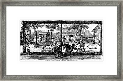 Railroad Crew, 1877 Framed Print by Granger