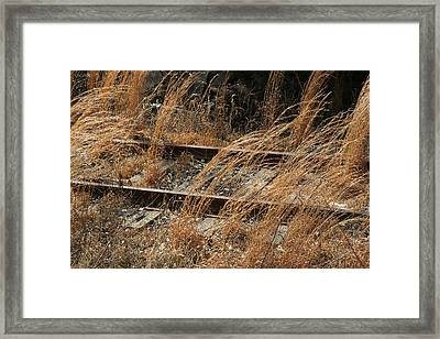Rails Retired Framed Print