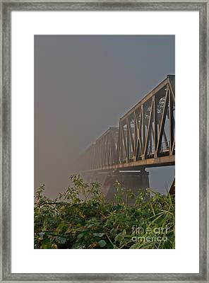 Railway Bridge Framed Print