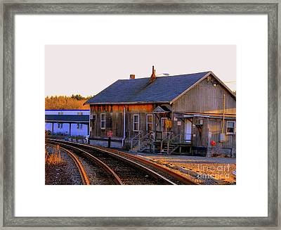Railway  House Framed Print