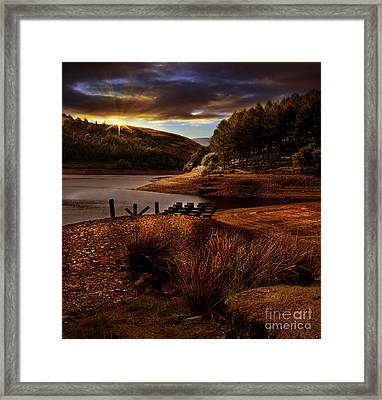 Railway Pillars Framed Print by Nigel Hatton