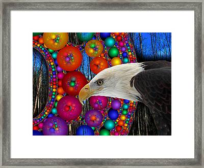 Rain Dance Framed Print by Robert Orinski