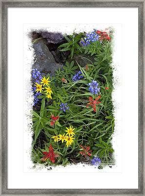 Rain Forest Bouquet Framed Print