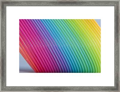 Rainbow 6 Framed Print by Steve Purnell